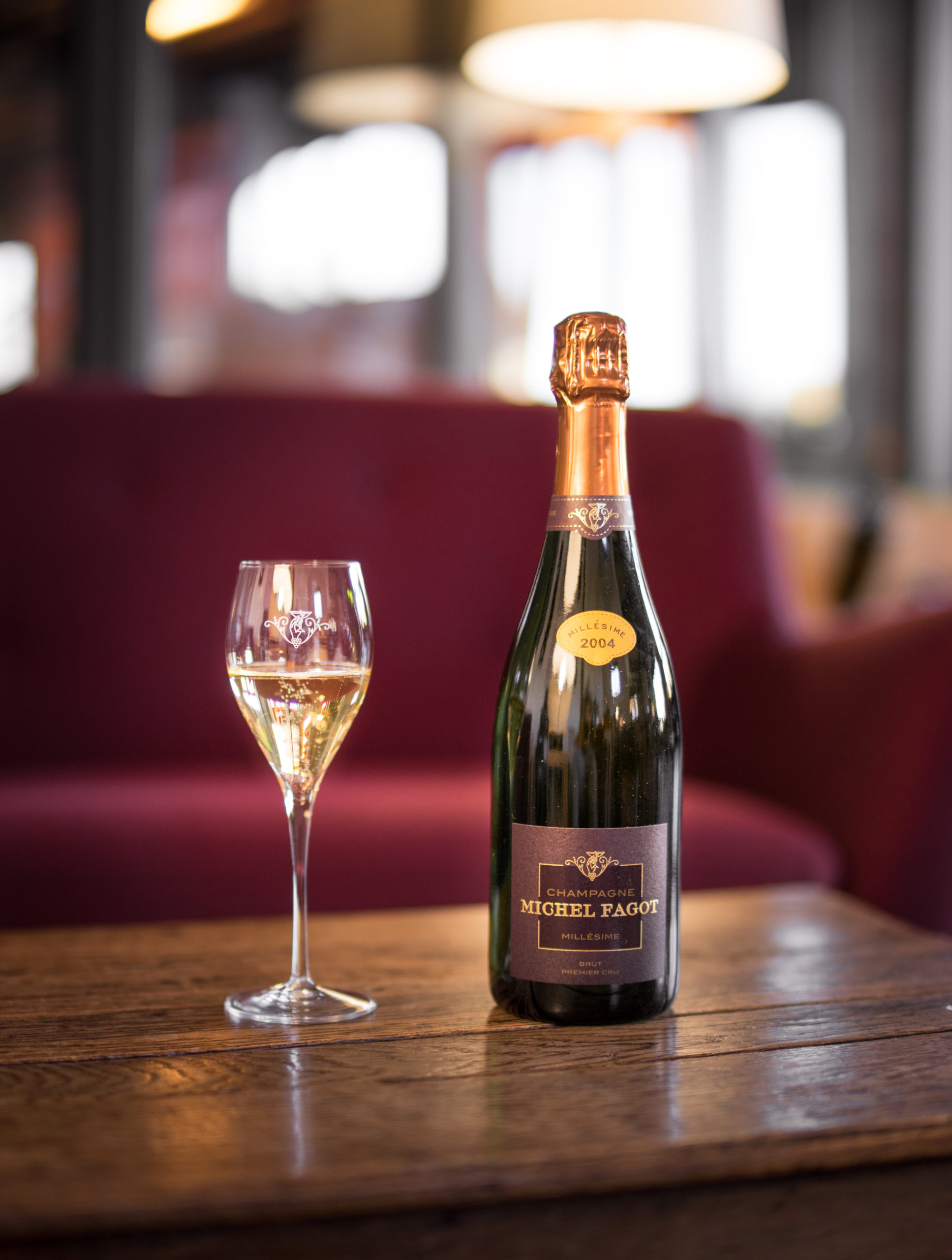 The Vintage of The Champagne House Michel fagot